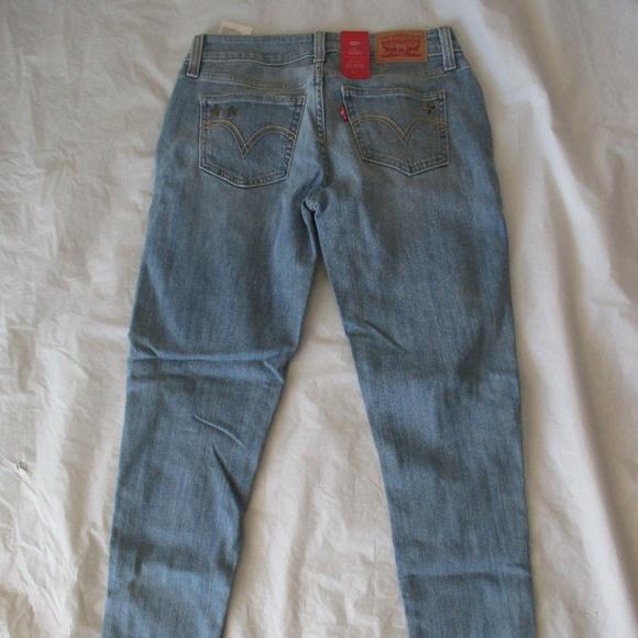 Levi's Denim - Levi's 535 Jeans 384180004 Super Skinny Color Blue